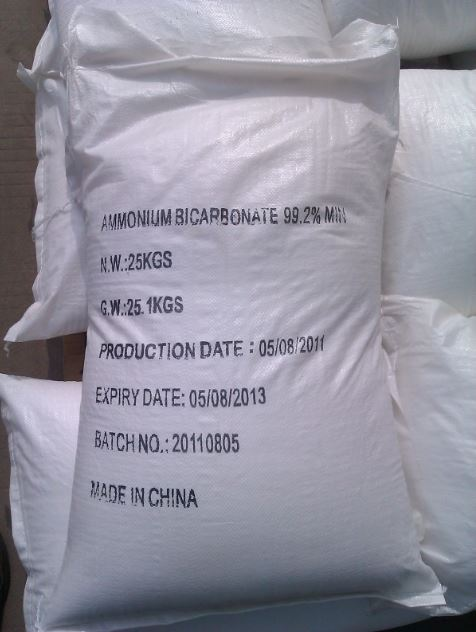 AMONIUM BICARBONATE (NH4HCO3)