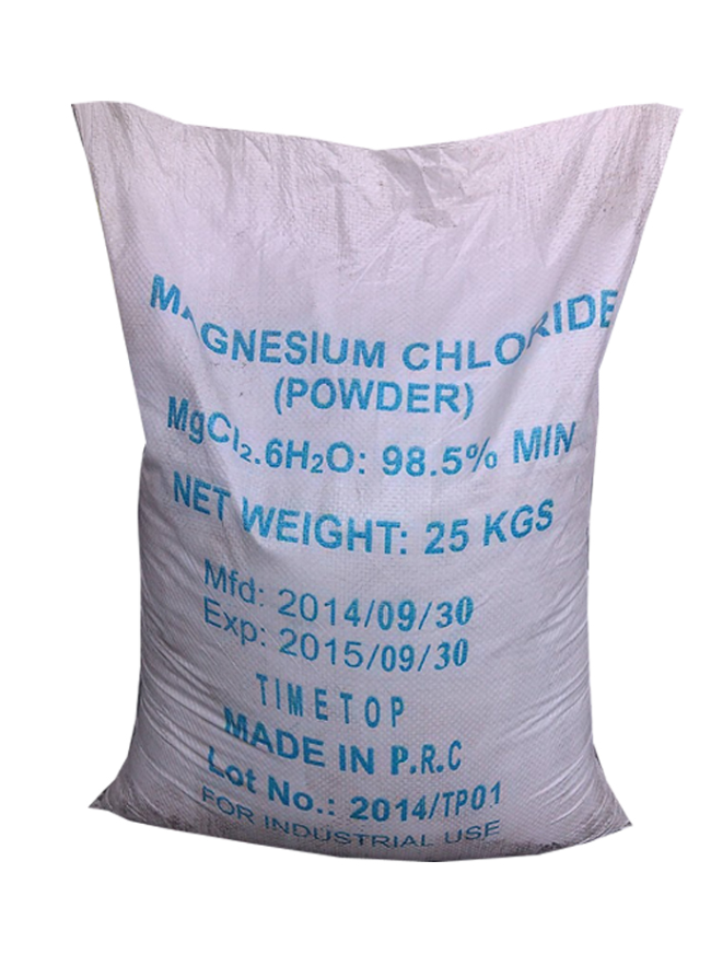 MAGNESIUM CHLORIDE HEXAHYDRATE – MGCL2.6H2O